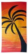 Tropic Of Palms Bath Towel