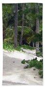 Tropical Beach Hand Towel
