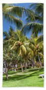 Tropical Beach I. Mauritius Bath Towel