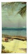 Tropical Coast Hand Towel