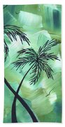 Tropical Dance 3 By Madart Hand Towel
