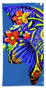 Tropical Fish Hand Towel