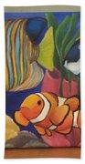 Tropical Fish Bath Towel