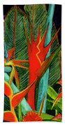 Tropical Flowers Assortment #60 Hand Towel