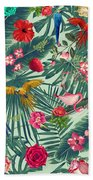 Tropical Fun Time  Hand Towel