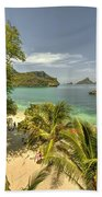 Tropical Harbour Bath Towel