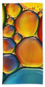 Tropical Oil And Water II Bath Towel