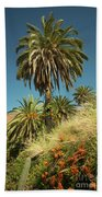 Tropical Palm  Bath Towel