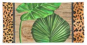 Tropical Palms 1 Bath Towel