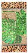 Tropical Palms 2 Bath Towel