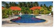 Tropical Paradise Hand Towel