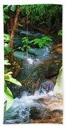 Tropical Stream Bath Towel