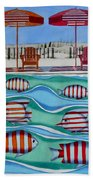 Tropical Sycronicity Bath Towel