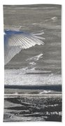 Trumpeters Wintering On The Thorne Hand Towel