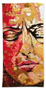 Truth Is Eternal, Asian Painting Hand Towel