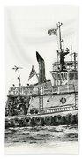 Tugboat Shelley Foss Bath Towel