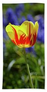Tulip Flame Bath Sheet
