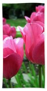 Tulipfest 3 Bath Towel