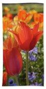 Tulips Everywhere 3 Hand Towel