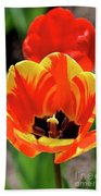 Tulips Yellow Red Bath Towel