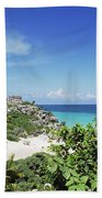 Tulum Ruins Bath Towel