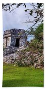 Tulum Watchtower Bath Towel