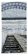 Tyne Bridge, Newcastle Bath Towel