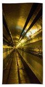 Tunnel In Schoenenbourg Fort, France Bath Towel