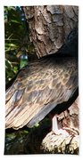 Turkey Buzzard Bath Towel