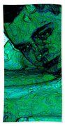 Turquoise Man Bath Sheet