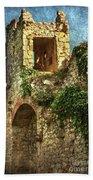 Turret At Wallingford Castle Bath Towel