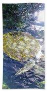 Turtle Water Glide Bath Towel