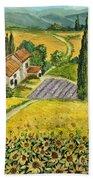 Tuscan Italy Bath Towel
