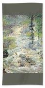 twachtman the rainbows source 1890s John Henry Twachtmann Bath Towel