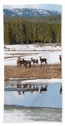 Twice The Elk Bath Towel