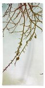 Twigs And Winter Sky Two Bath Towel