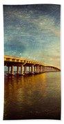 Twilight Biloxi Bridge Hand Towel