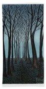 Twilight Forest Bath Towel