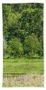 Twin Barns In Spring Bath Towel