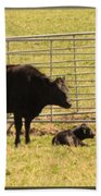 Twin Calves Bath Towel