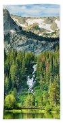 Twin Lakes Waterfall Bath Towel