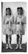 Twins First Communion 2 Bath Towel