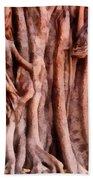 Twisted Gnarled Tree Bath Towel