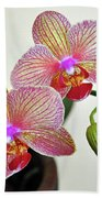 Two Blooms For You Bath Towel