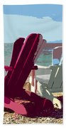 Two By The Shore Bath Towel