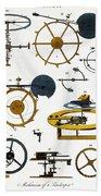 Types Of Clock Mechanism, 1810 Bath Towel