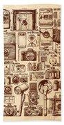 Types Of Photo Cameras Bath Towel