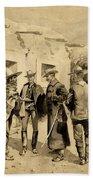 U. S. Cavalry Hunting Garza Men On The Rio Grande Bath Towel