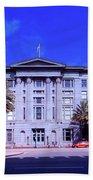 U S Custom House - New Orleans Bath Towel