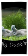 Ugly Duckling Bath Towel